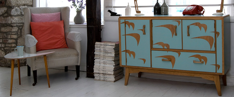 Sea Jade sideboard
