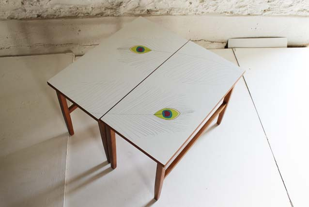 Sold lucy turner for Peacock coffee table