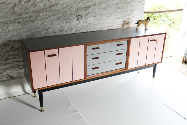 flamingo-g-plan-sideboard-by-lucy-turner