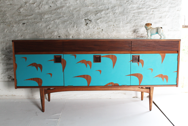 bermuda-bird-formica-colourful--retro-sideboard-by-lucy-turner