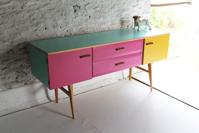 colourful-retro-chest-of-drawers-by-lucy-turner