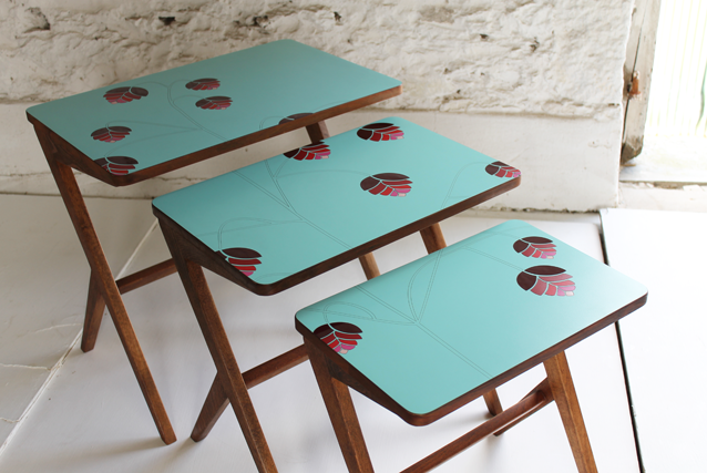 quaker-grass-modern-marquetry-nest-of-formica-tables-by-lucy-turner