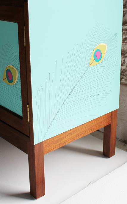 colourful-colorful--peacock-turquiose--furniture-by-lucy-turner