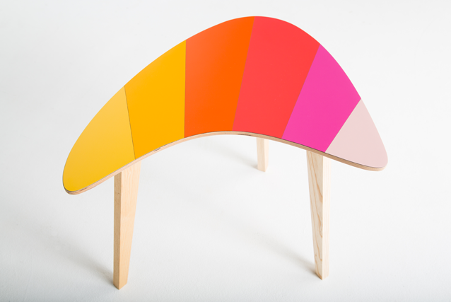 pink-red-orange-formica-kidney-table-by-lucy-turner-bright-furniture