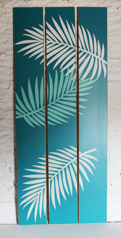 palm-leaf-wall-panels-bathroom-art-lucy-turner