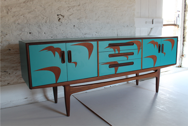 bermuda blue sideboard g plan
