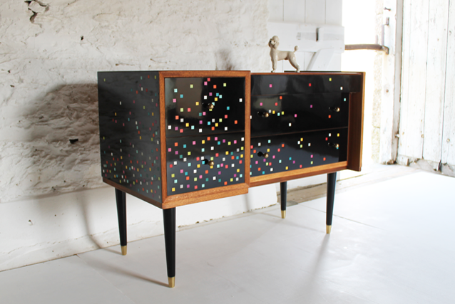 disco-sideboard-glosy-black-80's-furniture-