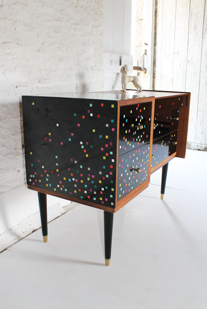 glossy-black-disco-sideboard-coloured-square-furniture-
