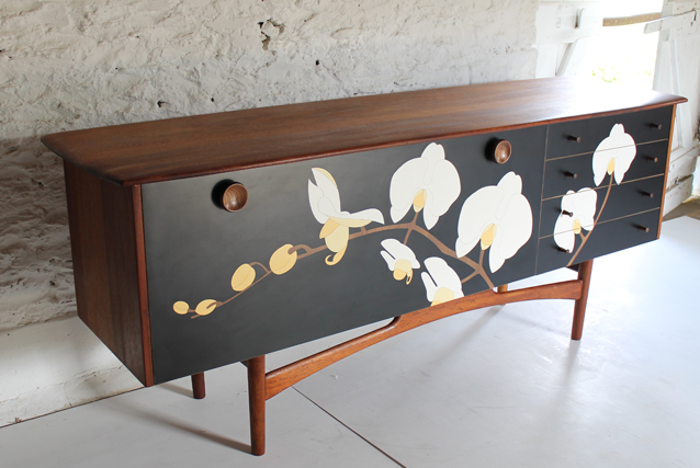orchid-sideboard-colourful-furniture-retro-sideboard-midcentury-marquetry