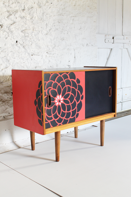 coral-red-cabinet-formica-