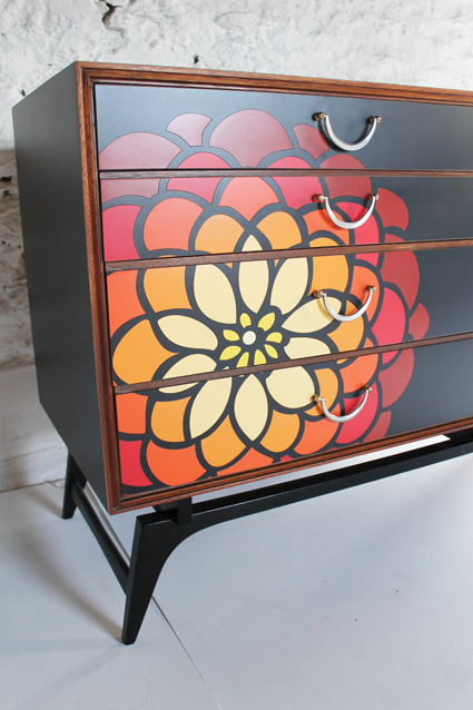 dahlia-close-up-orange-bright-fruniture-modern-chest-of-drawers