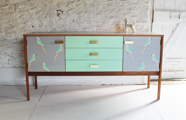 mint-green-sideboard-colourful-parrot-furniture-grey-lucy-turner-modern-marquetry