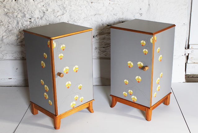 quaking-grass-cabinet-lucy-turner-modern-marquetry-yellow-sunshine-grey