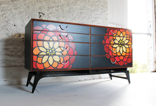 red-burnt-orange-paprkia-sideboard-furniture-bright-lucy-turner-laser-cut-formica