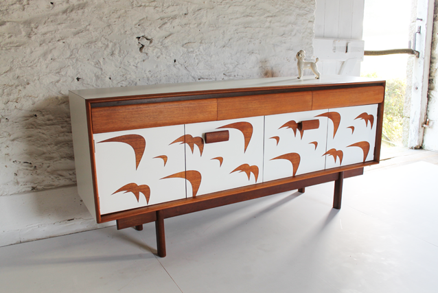 white-bird-sideboard-lucy-turner-retro-sideboard-white-formica-colourful-unusual